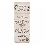 Bee Fresh Organic Deodorant Orange Citrus