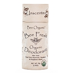 Bee Fresh Organic Deodorant Unscented