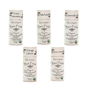 Family Pack of 4 Bee Fresh Organic Deodorants