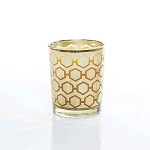 Medium Gold Candle Made w/ Organic Beeswax