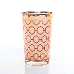 Large Rose Gold Candle Made w/ Organic Beeswax