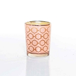 Small Rose Gold Candle Made w/ Organic Beeswax