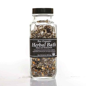 Organic Herbal Bath - Sleep and Relaxation w/ Reusable Tea Bag