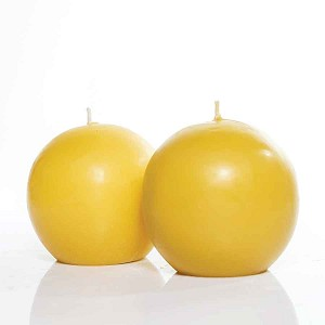 Sphere Set Made w/ Organic Beeswax Candles